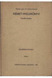 Német nyelvkönyv kezdők részére - Régikönyvek