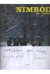 Nimród 1988. évfolyam (hiányos) - számonként - Régikönyvek