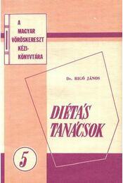 Diétás tanácsok 5. - Régikönyvek
