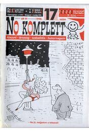 No komplett 1998. 17. szám - Böröcz Nándor (szerk.) - Régikönyvek