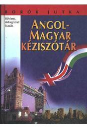 Angol-magyar kéziszótár - Borók Jutka - Régikönyvek