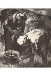 Iván Szilárd festőművész kiállításának megnyitása (meghívó) - Borsos Miklós - Régikönyvek