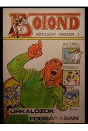 Botond 2. (Űrkalózok fogságában) - Régikönyvek