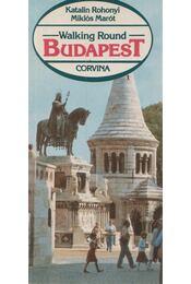 Walking Round Budapest - Régikönyvek