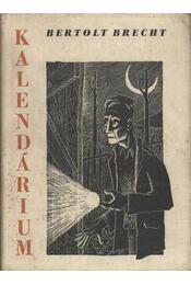 Kalendárium - Brecht, Bertolt - Régikönyvek