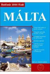 Málta - Útikönyv - Brian Richards - Régikönyvek