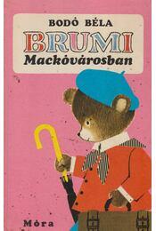 Brumi Mackóvárosban - Régikönyvek