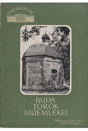 Buda török műemlékei - Régikönyvek