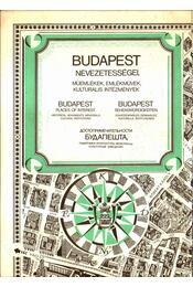 Budapest nevezetességei - Mácsai István, Kass János - Régikönyvek