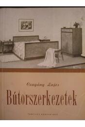 Bútorszerkezetek - Régikönyvek