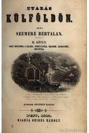 Utazás külföldön I-II. kötet - Régikönyvek