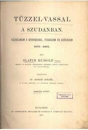 Tűzzel-vassal a Szudánban I-II. kötet - Régikönyvek