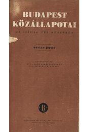 Budapest közállapotai - Régikönyvek