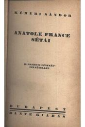 Anatole France sétái - Régikönyvek