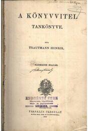 A könyvvitel tankönyve - Régikönyvek