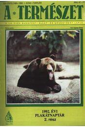 A természet 1992-93 - Régikönyvek