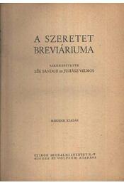 A szeretet breviáriuma - Régikönyvek