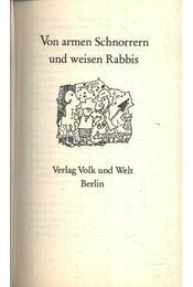 Von armen Schnorrern und weisen Rabbis - Régikönyvek