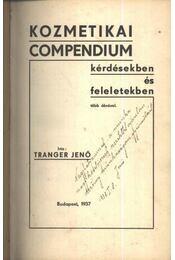 Kozmetikai compendium kérdésekben és feleletekben - Régikönyvek