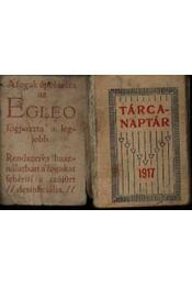 Tárcanaptár 1917. (mini) - Régikönyvek