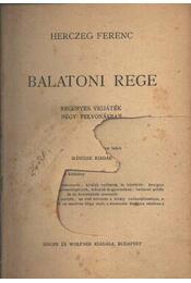 Balatoni rege - Régikönyvek