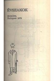 Évszakok - Régikönyvek