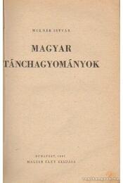 Magyar tánchagyományok - Régikönyvek