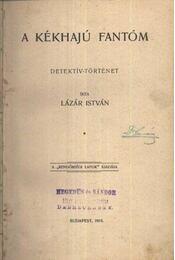 A kékhajú fantóm - Régikönyvek