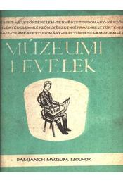 Múzeumi levelek - Régikönyvek