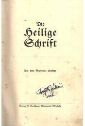 Die Heilige Schrift - Régikönyvek