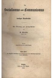 Socialismus und Kommunismus - Régikönyvek