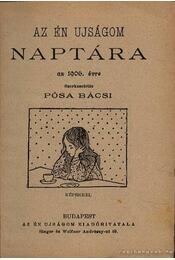 Az Én Ujságom naptára 1906. - Régikönyvek