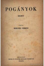 Pogányok - Régikönyvek