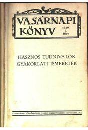 Vasárnapi könyv 1929 I-II. félév - Régikönyvek