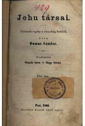 Jehu társai I-II. kötet - Régikönyvek