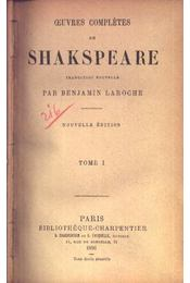 Shakespeare I-VI. kötet - Régikönyvek