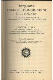 Everyman's English pronouncing dictionary - Régikönyvek