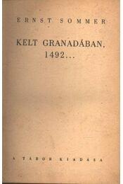 Kelt Granadában 1492 - Régikönyvek