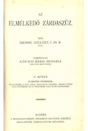 Az elmélkedő zárdaszűz II. kötet - Régikönyvek