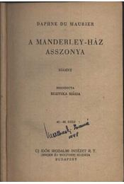 A Manderley-ház asszonya - Régikönyvek