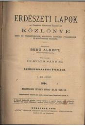Erdészeti Lapok Közlönye 1894. II. - Régikönyvek