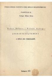 Jogesetgyűjtemény - Régikönyvek