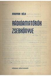 Rádióamatőrök zsebkönyve - Régikönyvek