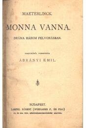 Monna Vanna - Régikönyvek