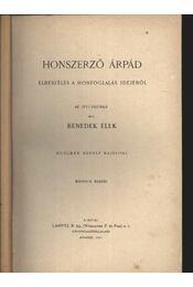 Honszerző Árpád - Régikönyvek