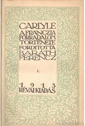 A franczia forradalom története I-III. kötet - Régikönyvek