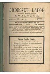 Erdészeti Lapok Közlönye 1896. II. - Régikönyvek