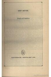 Ráby Mátyás önéletírása - Régikönyvek