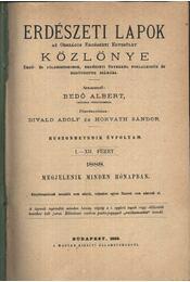 Erdészeti Lapok Közlönye 1888. II. - Régikönyvek