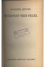 Budapest nem felel - Régikönyvek